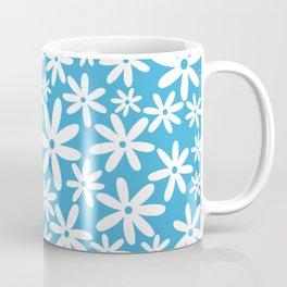 Tiare Flower Sky Blue Coffee Mug