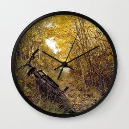 Beautiful pause Wall Clock