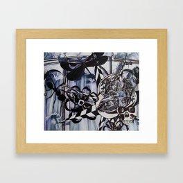 Heaven's Hell Framed Art Print