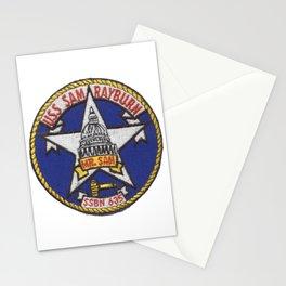 USS SAM RAYBURN (SSBN-635) PATCH Stationery Cards