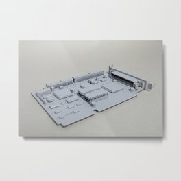 Adaptor Metal Print