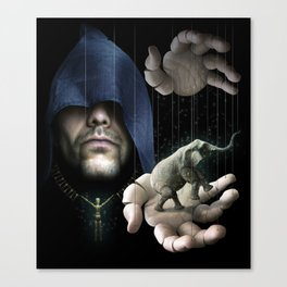 The Mystic's Strings Canvas Print