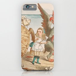Scene from Alice in Wonderland iPhone Case