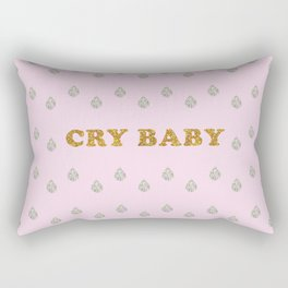 Lucent Tears (Cry Baby) Rectangular Pillow