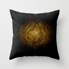 Knotty Wood Work 02 Throw Pillow