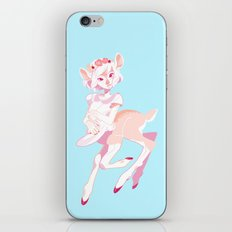 Deertaur - Pink iPhone & iPod Skin