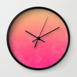 Jane Watercolor Wall Clock