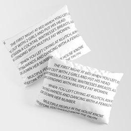 Sammi Anonymous letter to sam Pillow Sham