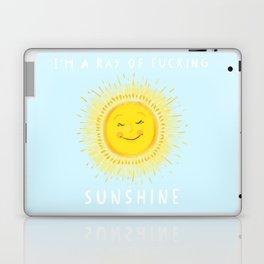 I'm a ray of fucking sunshine Laptop & iPad Skin