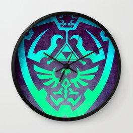 Video game Shield Wall Clock