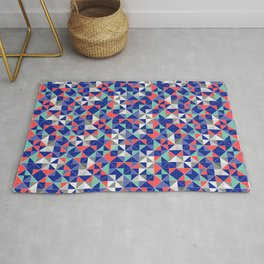 4th July Independence Day Background Rug