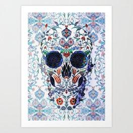 Chini Skull Art Print