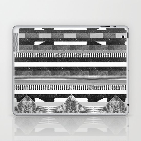 DG Aztec No.2 Monotone Laptop & iPad Skin