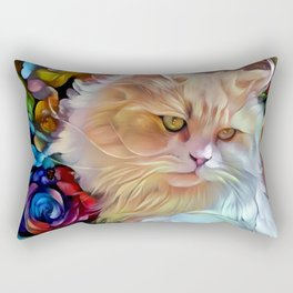 Pretty Kitty Rectangular Pillow