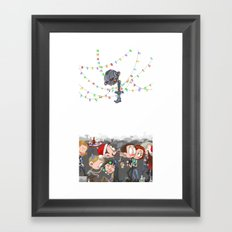 There are CHRISTMAS strings on me... Framed Art Print