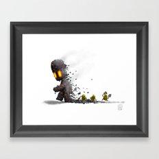 AshBoy Framed Art Print