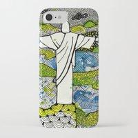 rio de janeiro iPhone & iPod Cases featuring Rio de Janeiro - Brazil by Luciana Pupo