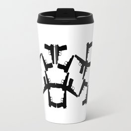 Pistol Robots Travel Mug