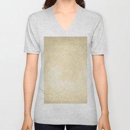 Simply Antique Linen Paper Unisex V-Neck