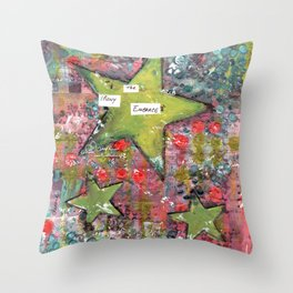 Embrace the Irony Throw Pillow