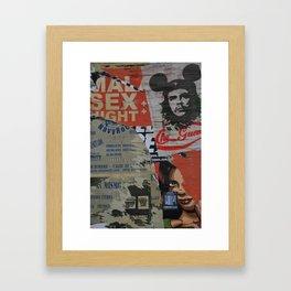 Che Street Art in Bogotá  Framed Art Print
