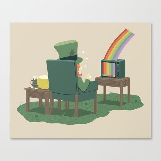 End Of Rainbow - No Signal Canvas Print