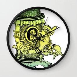 Read a Zine Wall Clock