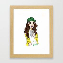 Thickshake Framed Art Print