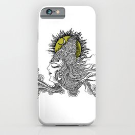 Shiva Moon iPhone Case