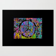 Colours of the World ' Art Print