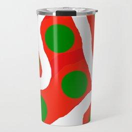 Dots and Bends Travel Mug