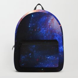 Pinwheel Galaxy Blue Backpack