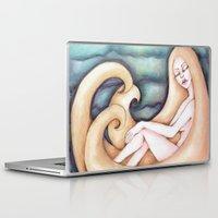 siren Laptop & iPad Skins featuring Siren by Silviacat