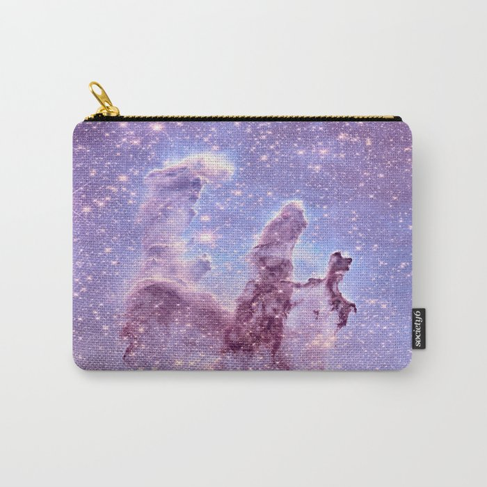 Subtle Space : Pillars of Creation Nebula Carry-All Pouch