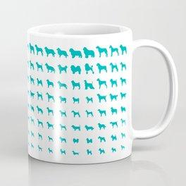 All Dogs (Aqua) Coffee Mug