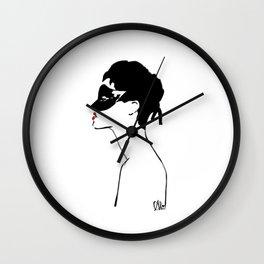 The Red Lip-Rihanna Wall Clock