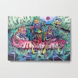 Canoe Trip Metal Print