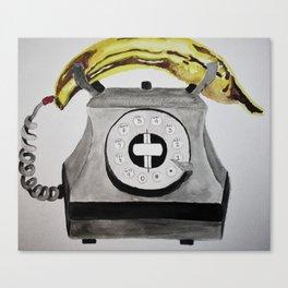 Banana Phone Canvas Print