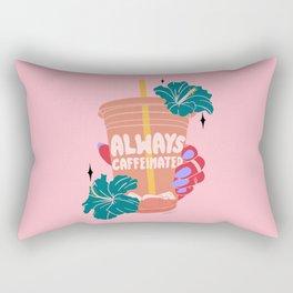 ALWAYS CAFFEINATED Rectangular Pillow