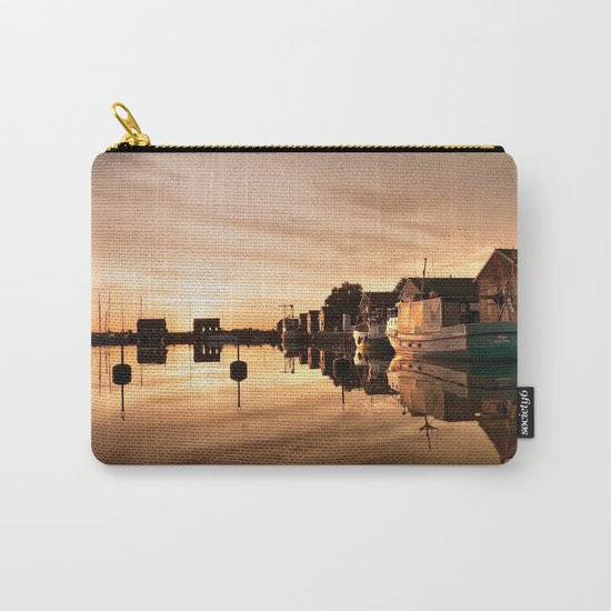 Beautiful Sunrise - harbour Beach Boat Ship Carry-All Pouch