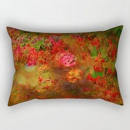 Cascading Foliage Rectangular Pillow