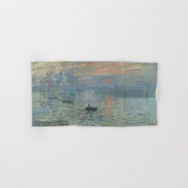 Claude Monet's Impression, Soleil Levant Hand & Bath Towel