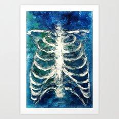 Ribs  Art Print