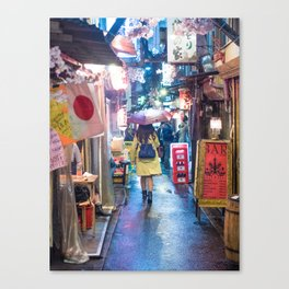 Lead Me into the Night Canvas Print