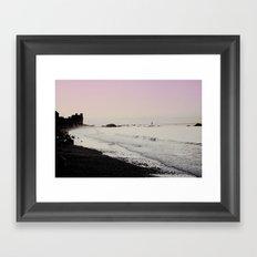 Breaking Tide Framed Art Print