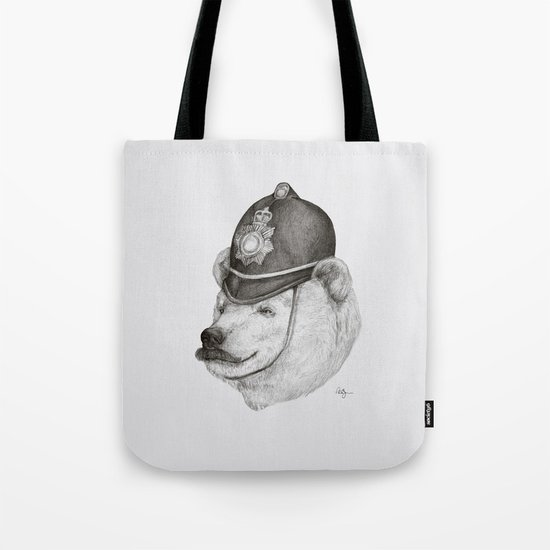 Bearly Legal Tote Bag