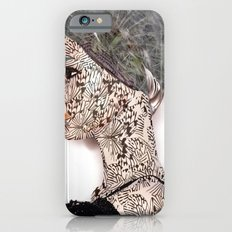 butterfly woman iPhone 6s Slim Case