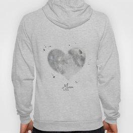 Moon in love Hoody