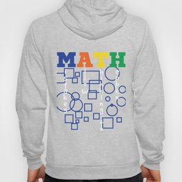 """""""MATH, Mistake Allow Thinking Happen"""" tee design. Sensible and perfect gift to your loved ones too!  Hoody"""