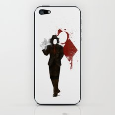 Jack of Diamonds iPhone & iPod Skin
